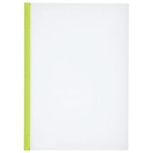 その他 (まとめ)LIHITLAB スライドバーファイル G1720-6 黄緑 10冊【×30セット】 ds-2179850