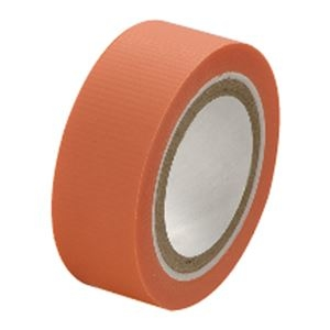 その他 (まとめ)セキスイ スマートカットテープミニ 15mm×4.5m 橙【×50セット】 ds-2180359