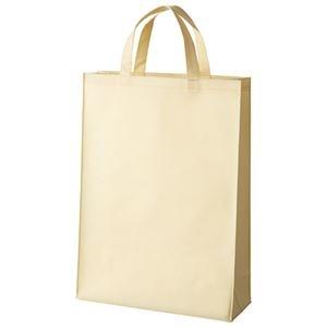 その他 (まとめ)スマートバリュー 不織布手提げバッグ中10枚 ベージュ B451J-BE【×30セット】 ds-2180402