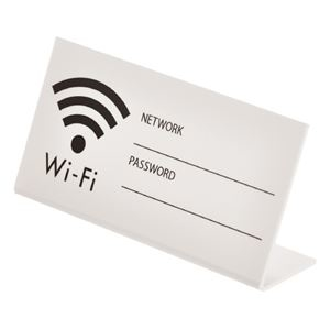 その他 (まとめ)光 ds-2180474 卓上プレート UP102-22 WiFi WiFi 白【×30セット (まとめ)光】 ds-2180474, コウナンク:40d12de8 --- sunward.msk.ru