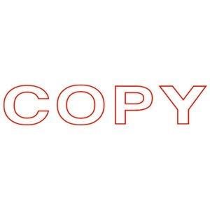 その他 (まとめ)サンビー QスタンパーS QSE-C17 COPY 赤【×50セット】 ds-2180525