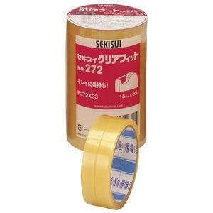 その他 (まとめ)セキスイ クリアフィットNo.272 15mm×35m 10巻【×30セット】 ds-2180857