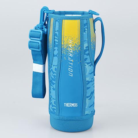 サーモス 真空断熱スポーツボトル FHT-1500F ブルーカモフラージュ B367158 ハンディポーチ 価格 交渉 送料無料 爆安