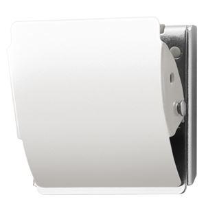 その他 (まとめ)プラス マグネットクリップ CP-040MCR M ホワイト【×50セット】 ds-2180969