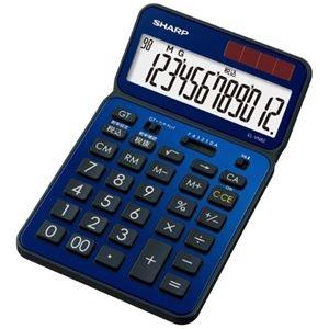 その他 (まとめ)シャープ カラー・デザイン電卓 EL-VN82-AX【×5セット】 ds-2181234