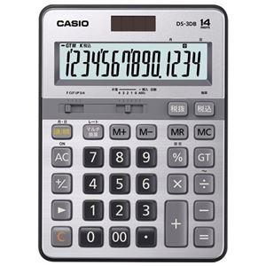 その他 (まとめ)カシオ計算機 本格実務電卓 DS-3DB 14桁【×5セット】 ds-2181247