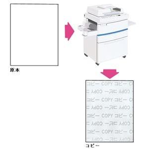 その他 (まとめ)寿堂 コピー偽造防止用紙 A4 1047 100枚*5冊【×5セット】 ds-2181284