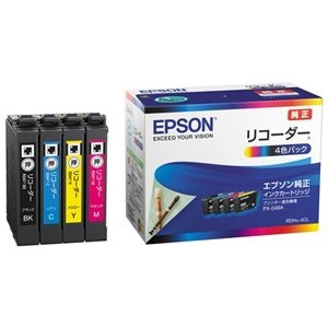 その他 (まとめ)エプソン インクカートリッジRDH-4CL 4色パック【×5セット】 ds-2181504
