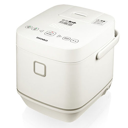 サンコー 新・糖質カット炊飯器(低糖質炊飯~2合、通常炊飯~4合) SLCABRCK【納期目安:1週間】