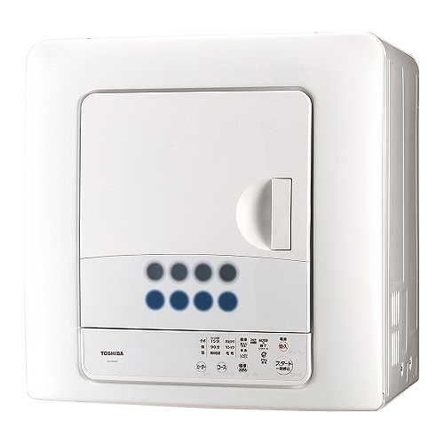 東芝 花粉フィルター搭載 衣類乾燥機 4.5kg ED-458-W【納期目安:約10営業日】