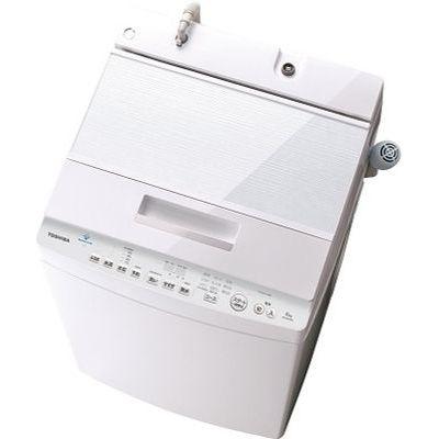 東芝 ZABOON 全自動洗濯機 DDインバーター 洗濯・脱水容量8kg (グランホワイト) AW-8D8-W【納期目安:約10営業日】