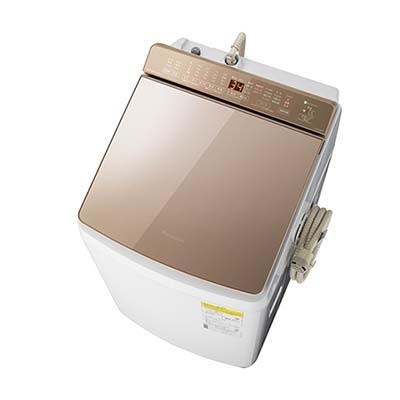 パナソニック 「液体洗剤・柔軟剤 自動投入」 洗濯乾燥機 (洗濯・脱水容量9kg/乾燥容量4.5kg) (ブラウン) NA-FW90K7-T【納期目安:6/下旬発売予定】