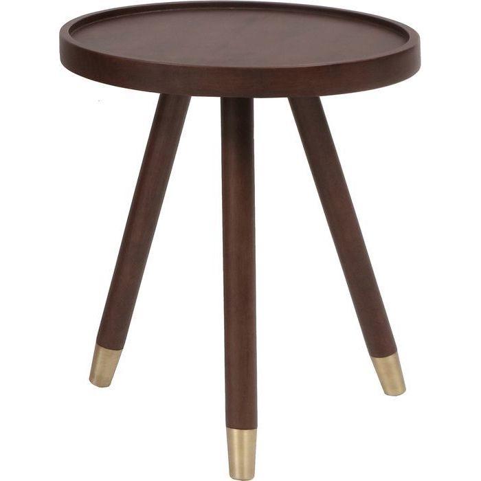 市場(Marche) emo Side Table EMT-3063BRGL