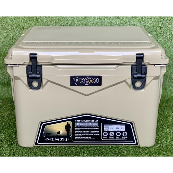 その他 HardCoolerBox(ハードクーラーボックス) 35QT (約33.1 ) (Sand) CL-03501