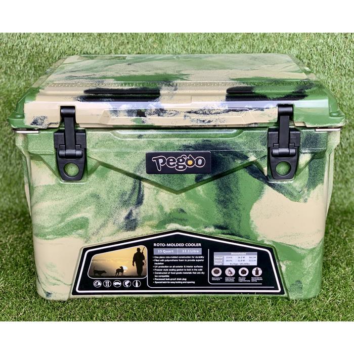 その他 HardCoolerBox(ハードクーラーボックス) 35QT (約33.1 ) (Army Camo) CL-03502