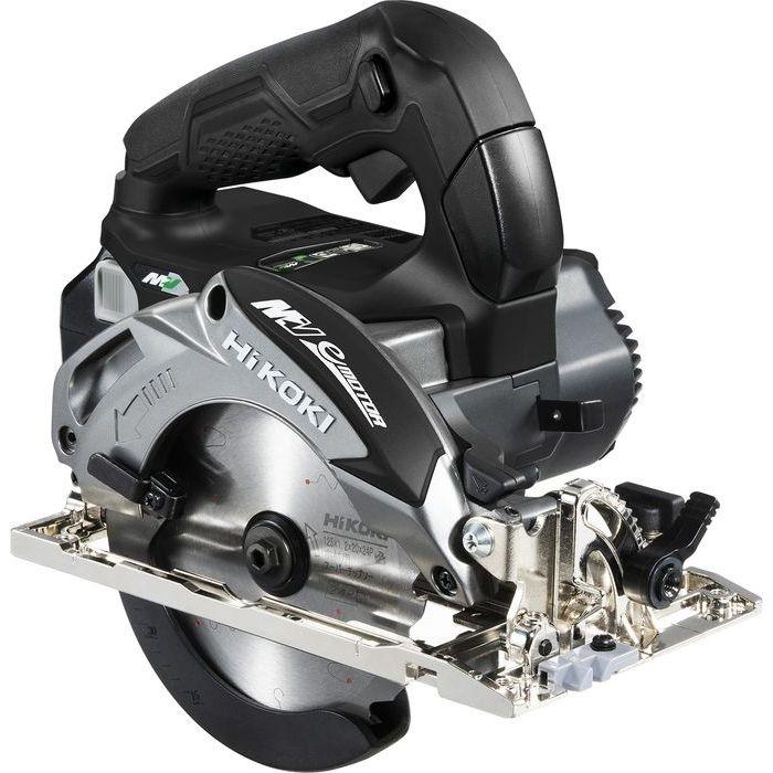 HiKOKI(日立工機) 【36V】【MULTI VOLT(マルチボルトシリーズ)】コードレス丸のこ(※本体のみ)(マルチボルト蓄電池・急速充電器・ケースは別売です)(ストロングブラック) C3605DA(NNB)