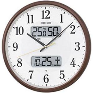その他 SEIKO カレンダー・温湿度計付き電波掛時計  1台 型番:KX383B ds-2182970