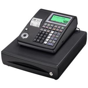 その他 カシオ計算機 1シートレジスター ブラック TE-400-BK 1台 ds-2183693