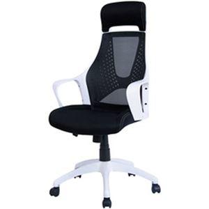 その他 オフィスデポ オリジナル ハイバックメッシュチェア ブラック 1脚 ds-2184990