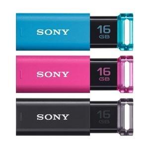 その他 ソニー USBメモリ ポケットビットUシリーズ 16GB USM16GU-3C 3個パック ds-2185303