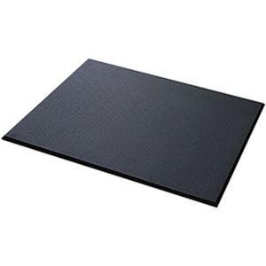 その他 カーボーイ 足腰マット 穴なし Mサイズ ブラック 1枚 AM-02 ds-2185344