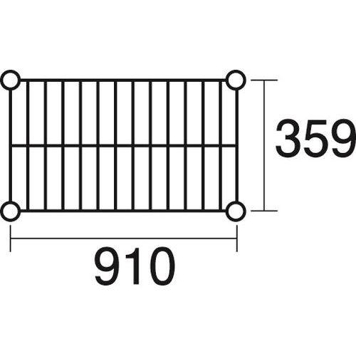 その他 ステンレスエレクター 棚 SAS 910 KND-137035