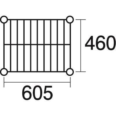 その他 ステンレスエレクター 棚 SMS610 KND-137038