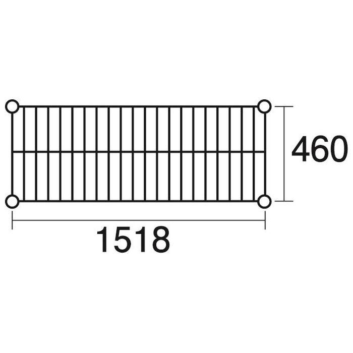 その他 ステンレスエレクター 棚 SMS1520 KND-137043