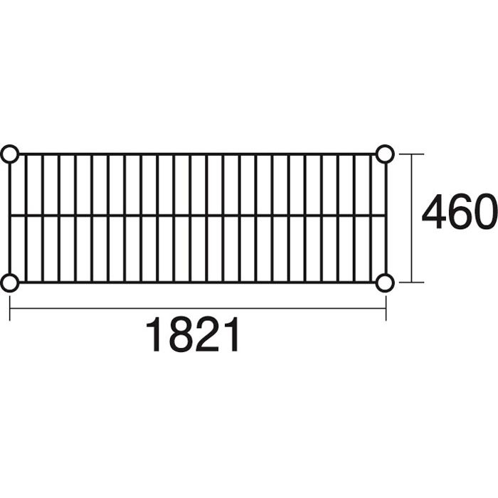 その他 ステンレスエレクター 棚 SMS1820 KND-137044