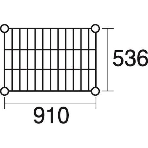 その他 ステンレスエレクター 棚 SBS910 KND-137045