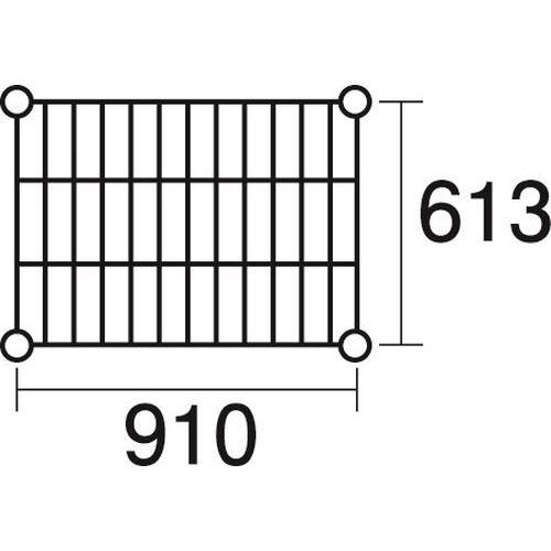その他 ステンレスエレクター 棚 SLS910 KND-137050