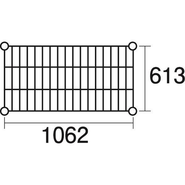 その他 ステンレスエレクター 棚 SLS1070 KND-137051