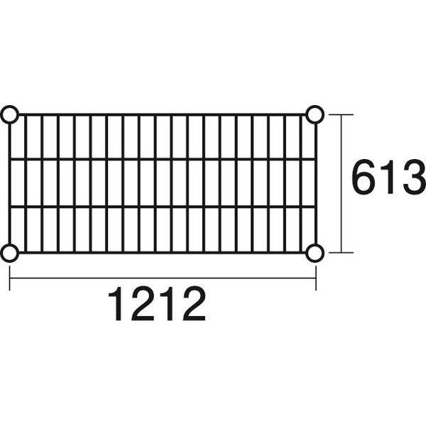 その他 ステンレスエレクター 棚 SLS1220 KND-137052