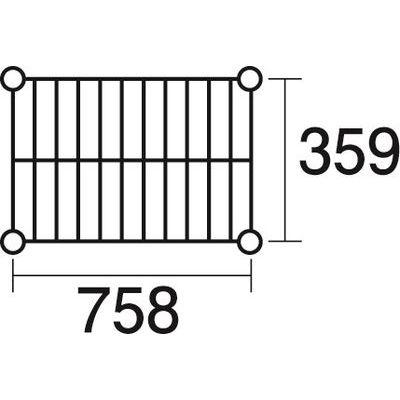 その他 ステンレスエレクター 棚 SLLS1220 KND-137122