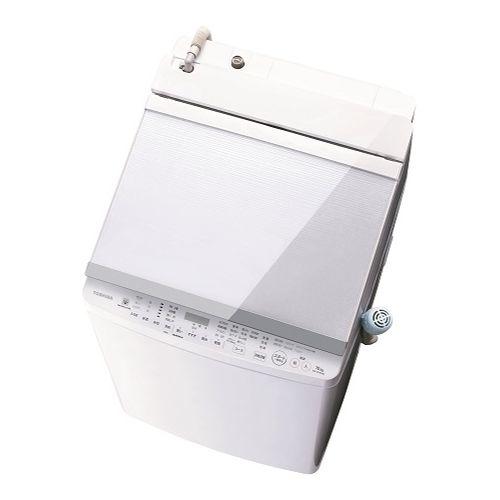 東芝 タテ型洗濯乾燥機 (洗濯脱水10kg / 乾燥5kg) グランホワイト AW-10SV8-W【納期目安:07/下旬発売予定】