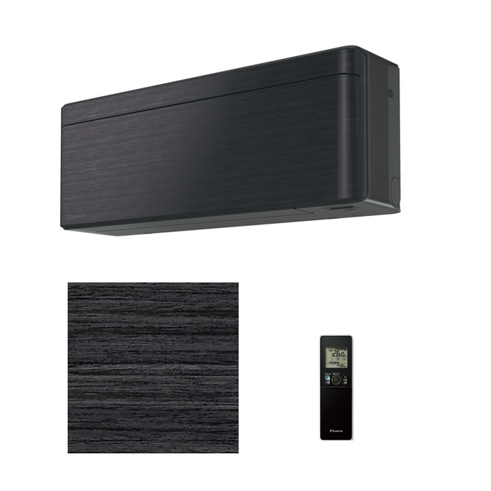 ダイキン スタイリッシュエアコン【risora】(主に14畳)(単相200V)ブラックウッド S40WTSXP-K