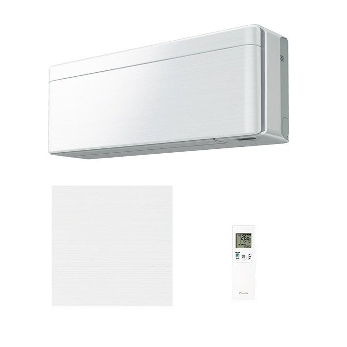 ダイキン スタイリッシュエアコン【risora】(主に14畳)(単相200V)ラインホワイト S40WTSXP-W