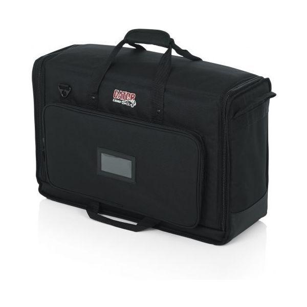 Gator Cases スモール・パッド入りデュアルLCD トランスポート・バッグ G-LCD-TOTE-SMX2