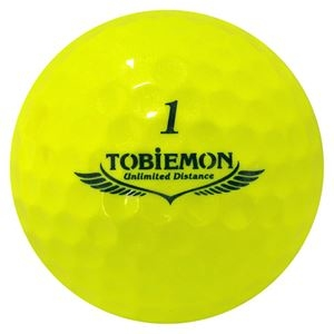 その他 6箱セット(1箱12球入り) TOBIEMON 超高性能3ピース PREMIUM-3 スパークルイエロー ダース T-B3DYX6 ds-2188214