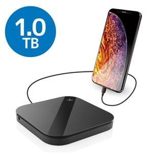 その他 エレコム ELECOM Portable Drive USB3.0 1TB Black/スマートフォン用 ELP-SHU010UBK ds-2188218