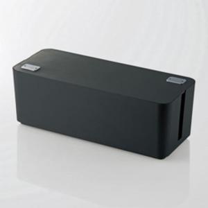 その他 5個セット エレコム ケーブルボックス(6個口) ブラック EKC-BOX001BKX5 ds-2188414