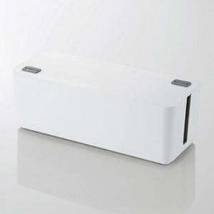 その他 5個セット エレコム ケーブルボックス(6個口) ホワイト EKC-BOX001WHX5 ds-2188415