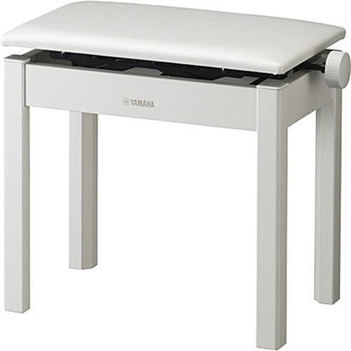 ヤマハ 電子ピアノ用椅子 ホワイト BC-205WH【納期目安:3週間】