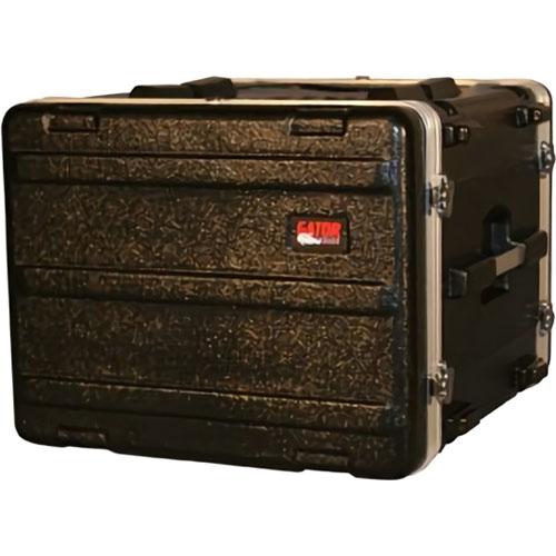 Gator Cases ラックケース 軽量PE製 Standard Molded Rack Case Series 8U/スタンダードサイズ (マウント用ネジ/ワッシャー付属) GR-8L