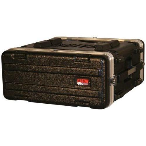 Gator Cases ラックケース 軽量PE製 Standard Molded Rack Case Series 4U/スタンダードサイズ (マウント用ネジ/ワッシャー付属) GR-4L