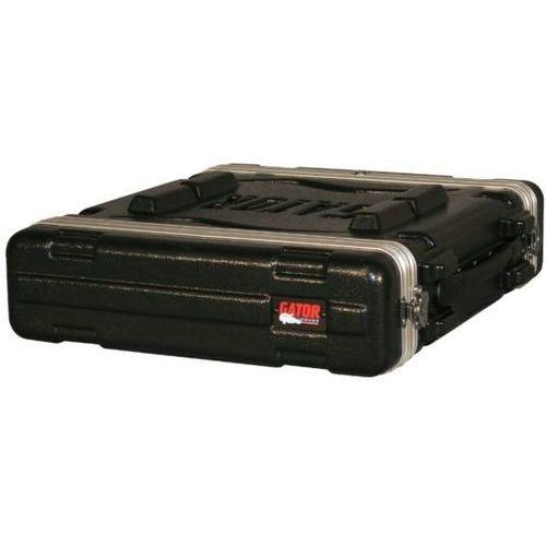 Gator Cases ラックケース 軽量PE製 Standard Molded Rack Case Series 2U/ショートサイズ (マウント用ネジ/ワッシャー付属) GR-2S