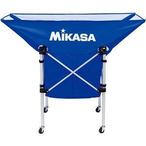 その他 MIKASA(ミカサ)【フレーム・幕体・キャリーケース3点セット】携帯用折り畳み式ボールカゴ(舟型) ブルー【ACBC210BL】 ds-2194734