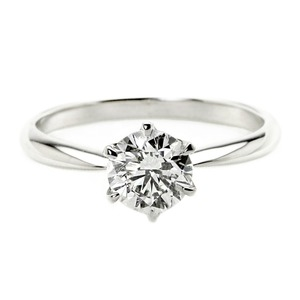 その他 ダイヤモンド リング 一粒 1カラット 13号 プラチナPt900 Hカラー SI2クラス Excellent エクセレント ダイヤリング 指輪 大粒 1ct 鑑定書付き ds-2199489