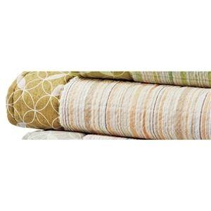 その他 しじら織り ラグマット/絨毯 【約220cm×220cm ベージュ】 正方形 綿100% 洗える 防滑 シボ加工 〔リビング〕 ds-2200240