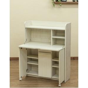 その他 Solano ライティングデスク 90cm幅 ホワイト(WH)【代引不可】 ds-2200733